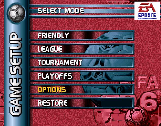 Fifa Soccer 96 Sega Genesis Mega Drive 32X EA Sports Electronic Arts Probe Entrtainment Xtreme Retro 3