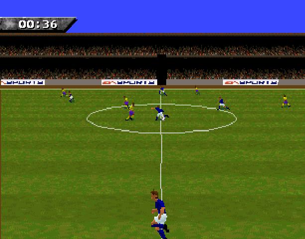 Fifa Soccer 96 Sega Genesis Mega Drive 32X EA Sports Electronic Arts Probe Entrtainment Xtreme Retro 5