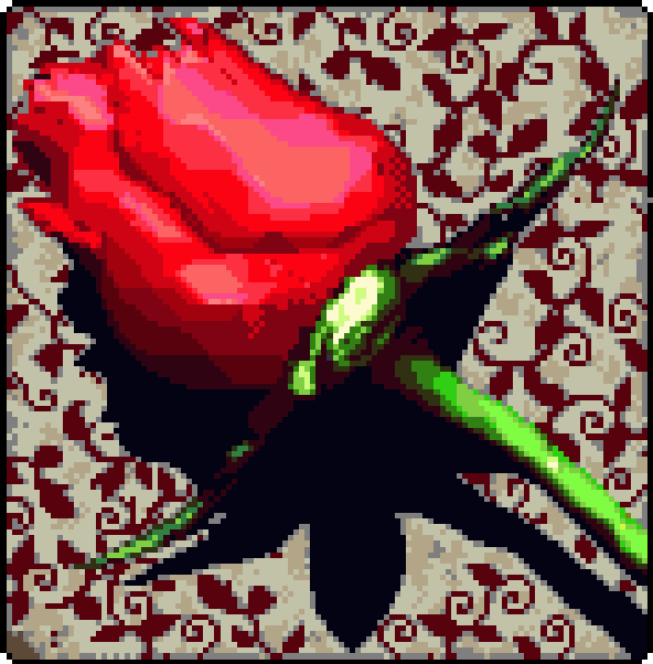 Flower Pixel Art Xtreme Retro