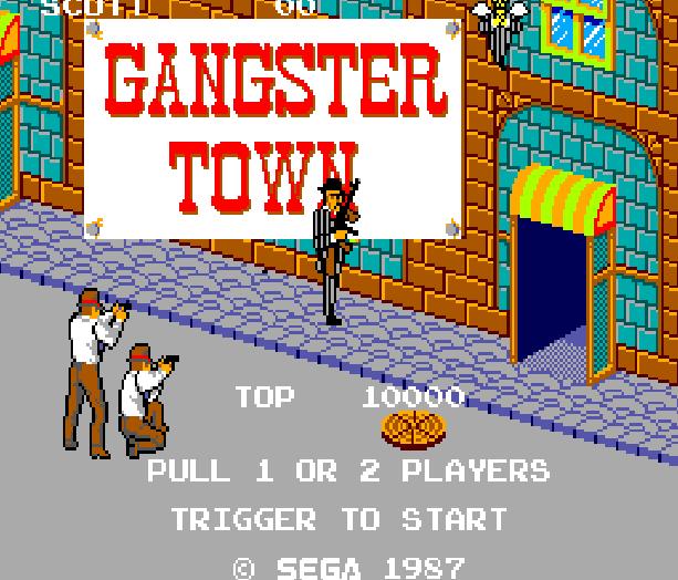 Gangster Town Sega Master System Shooting Game Xtreme Retro 1