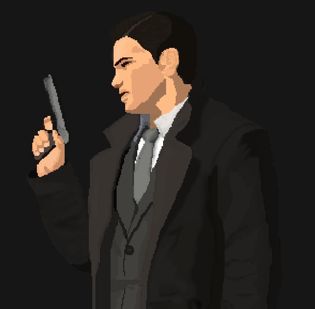 Gangster Town Sega Master System Shooting Game Xtreme Retro Pixel Art