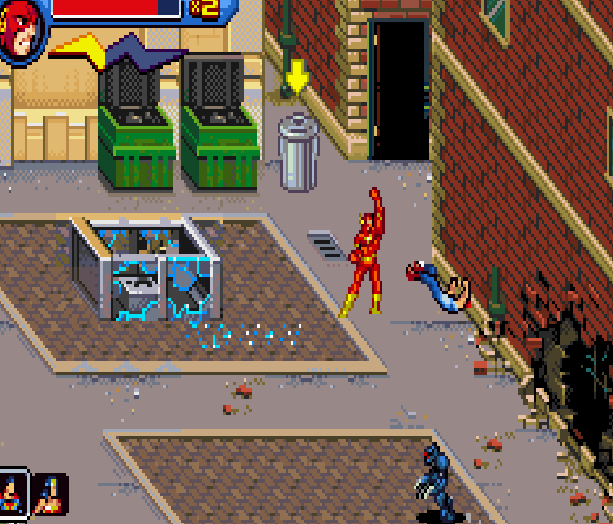 Justice League Heroes The Flash Game Boy Advance GBA Beat em up Brawler Comics Xtreme Retro 3