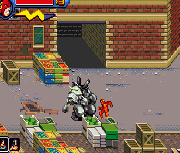 Justice League Heroes The Flash Game Boy Advance GBA Beat em up Brawler Comics Xtreme Retro 4