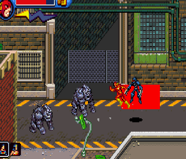 Justice League Heroes The Flash Game Boy Advance GBA Beat em up Brawler Comics Xtreme Retro 5