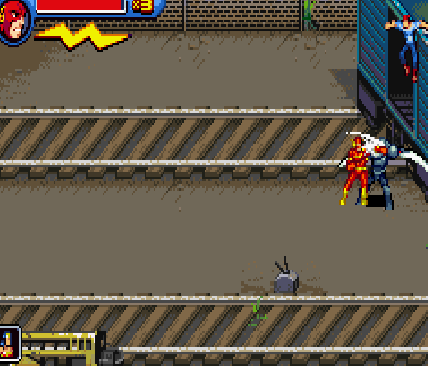 Justice League Heroes The Flash Game Boy Advance GBA Beat em up Brawler Comics Xtreme Retro 7