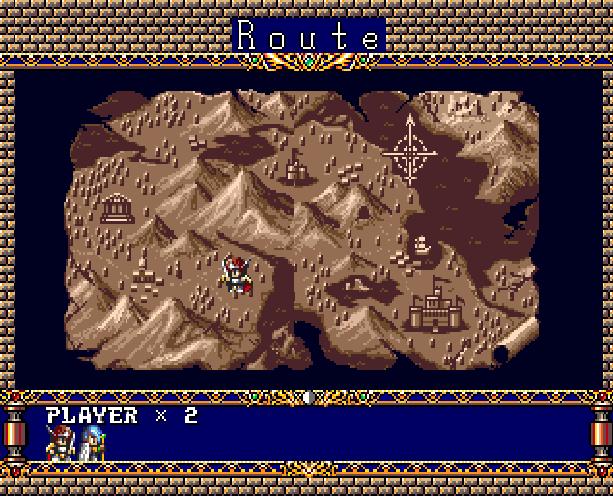 Langrisser Hikari II Tactical RPG Sega Genesis Mega Drive Xtreme Retro 3