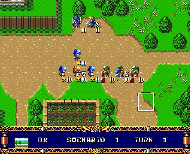 Langrisser Hikari II Tactical RPG Sega Genesis Mega Drive Xtreme Retro 6