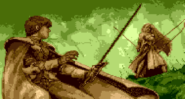 Phantasy Star III Generations of Doom Sega Genesis Mega Drive Game Boy Advance GBA JRPG Xtreme Retro 1