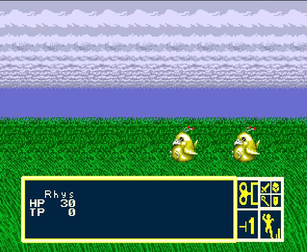 Phantasy Star III Generations of Doom Sega Genesis Mega Drive Game Boy Advance GBA JRPG Xtreme Retro 8