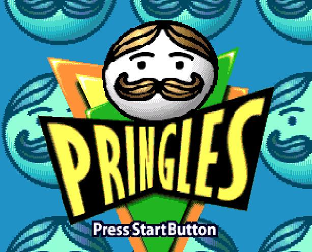 Pringles The Game Sega Genesis Mega Drive Xtreme Retro 1