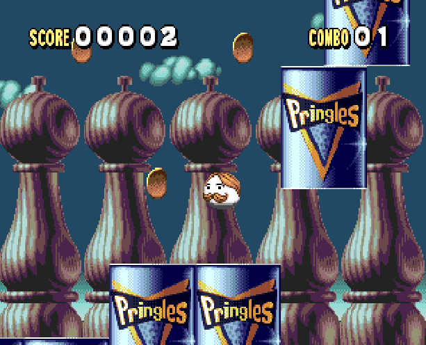 Pringles The Game Sega Genesis Mega Drive Xtreme Retro 2
