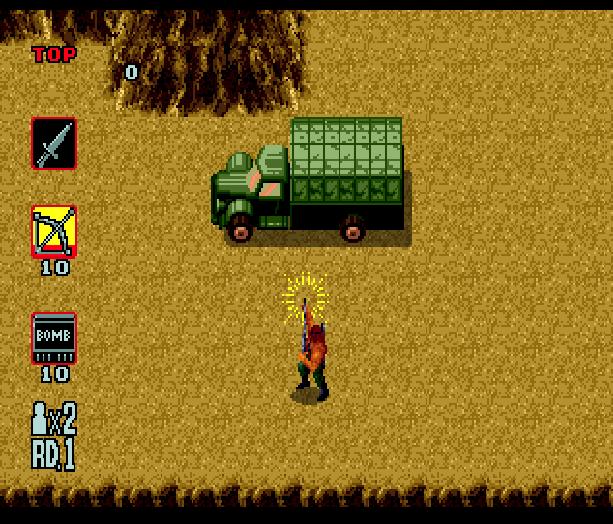 Rambo III Sega Genesis Mega Drive Xtreme Retro 2