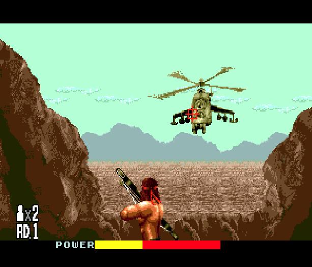 Rambo III Sega Genesis Mega Drive Xtreme Retro 3