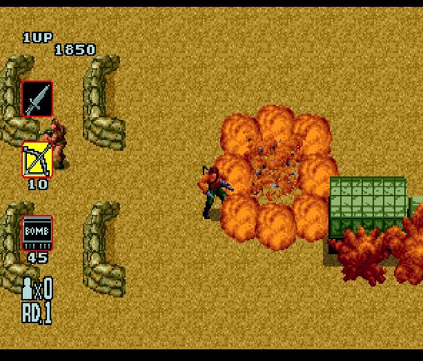 Rambo III Sega Genesis Mega Drive Xtreme Retro 5