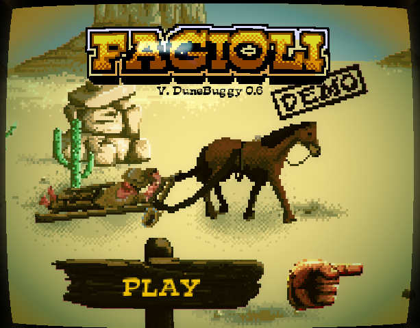 Schiaffi & Fagioli PC Indie Fangame Beat em up Movie Pixel Art Xtreme Retro 2