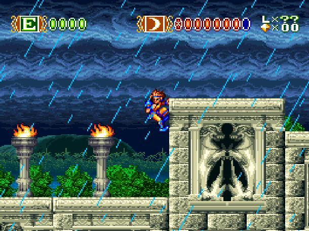 Sky Blazer Sony Super Nintendo SNES Xtreme Retro 1