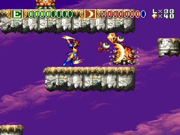 Sky Blazer Sony Super Nintendo SNES Xtreme Retro 2