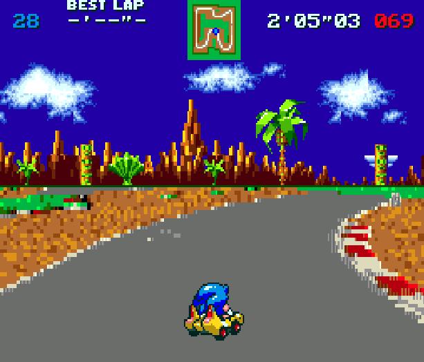 Sonic Team Racing Sega Genesis Mega Drive Xtreme Retro 1