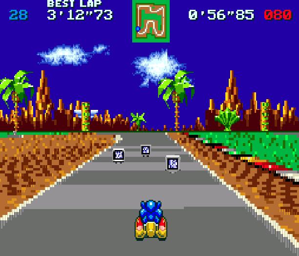 Sonic Team Racing Sega Genesis Mega Drive Xtreme Retro 2