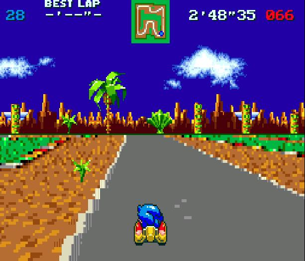 Sonic Team Racing Sega Genesis Mega Drive Xtreme Retro 3