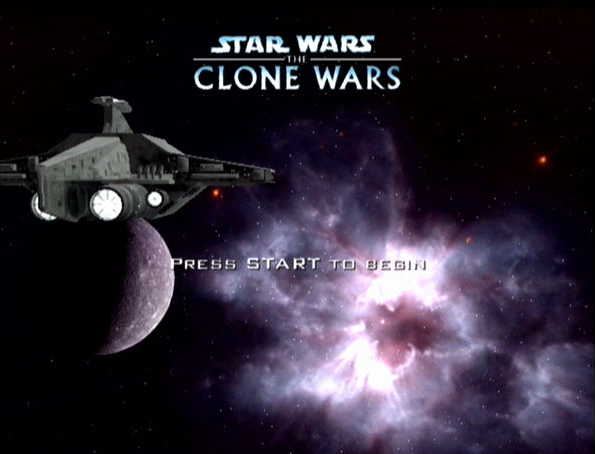 Star Wars The Clone Wars 2002 Pandemic Studios LucasArts GameCube GC PlayStation 2 PS2 Xbox Shooter Xtreme Retro 1