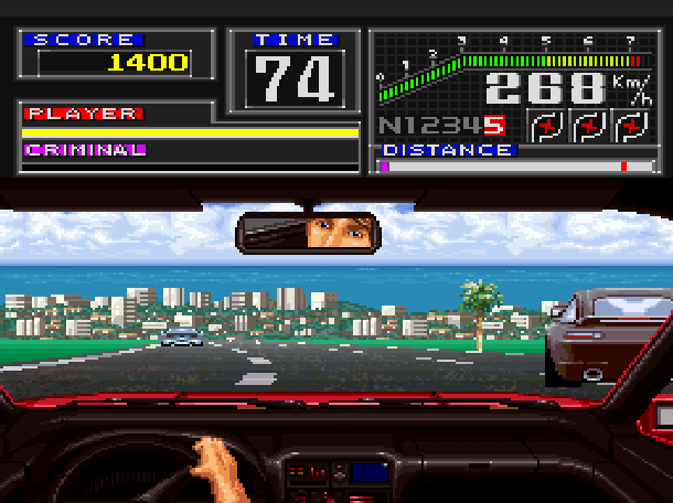 Super Chase HQ Taito Super Nintendo SNES Xtreme Retro 1