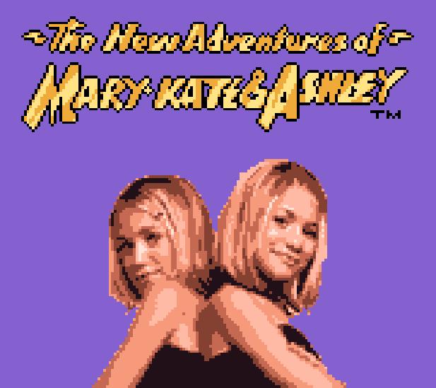 The New Adventures of Mary Kate & Ashley GBC Xtreme Retro 1