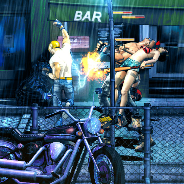 The TakeOver Streets of Rage Beat em up Xtreme Retro 4 Axel Stone