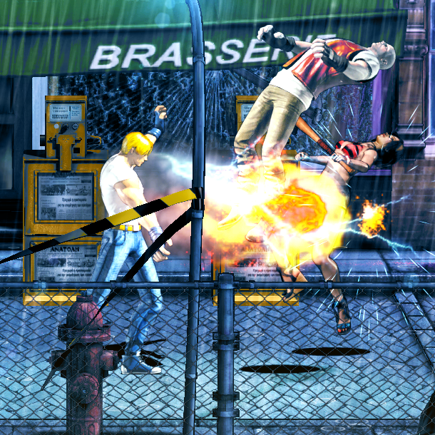 The TakeOver Streets of Rage Beat em up Xtreme Retro 5 Axel Stone
