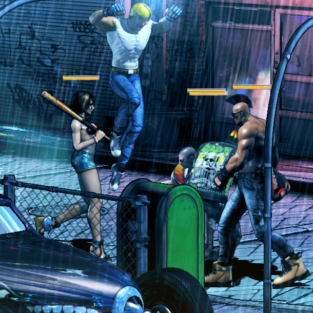 The TakeOver Streets of Rage Beat em up Xtreme Retro 7 Axel Stone