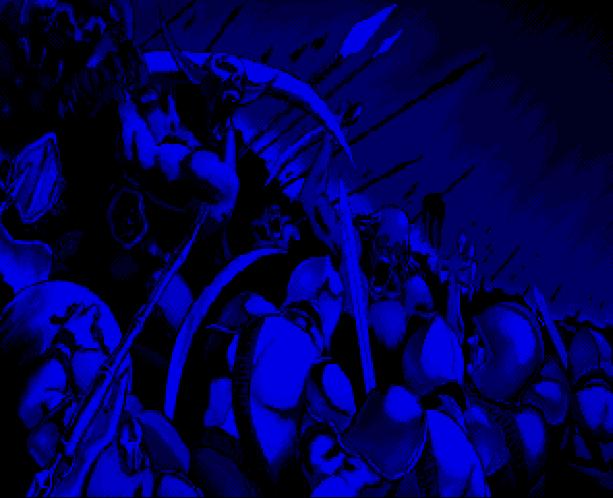 Undead Line Sega Genesis Mega Drive Shooter Xtreme Retro 1