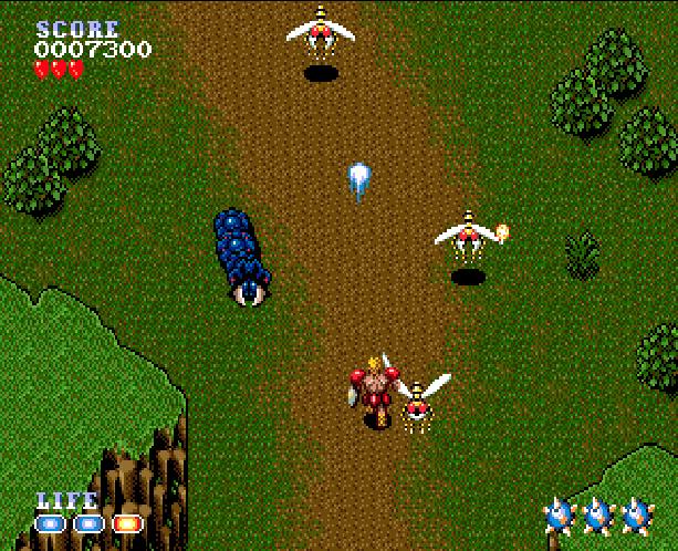 Undead Line Sega Genesis Mega Drive Shooter Xtreme Retro 3