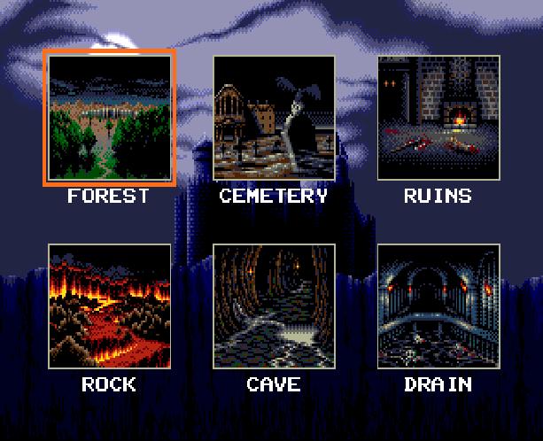 Undead Line Sega Genesis Mega Drive Shooter Xtreme Retro 4