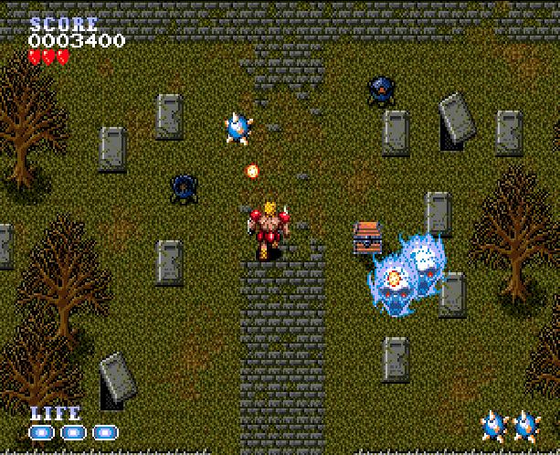 Undead Line Sega Genesis Mega Drive Shooter Xtreme Retro 5