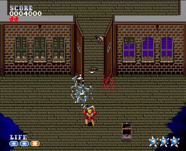 Undead Line Sega Genesis Mega Drive Shooter Xtreme Retro 6