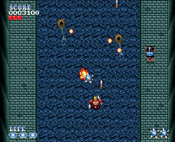 Undead Line Sega Genesis Mega Drive Shooter Xtreme Retro 9