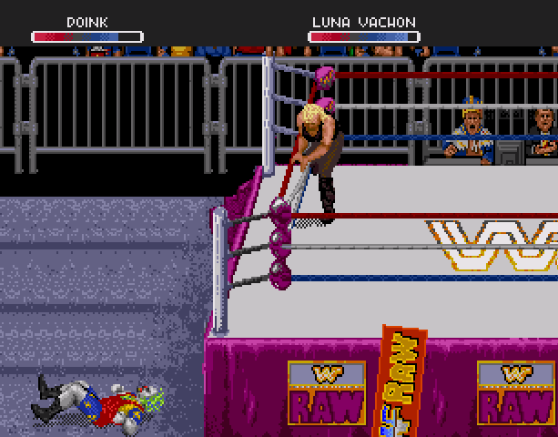 WWF Raw Acclaim Sega 32X Xtreme Retro 5
