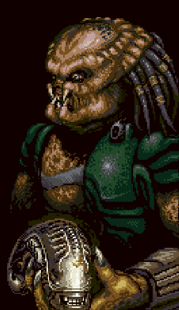 Alien Vs Predator Super Nintendo SNES Activision Xtreme Retro 1