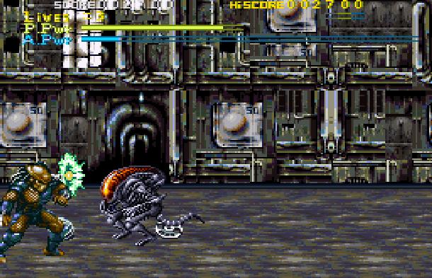Alien Vs Predator Super Nintendo SNES Activision Xtreme Retro 3