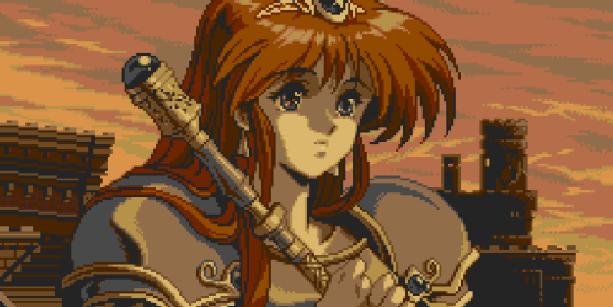 Alis Landale Phantasy Star Sega Master System Mega Drive Genesis PlayStatioon 2 PS2 Phantasy Star Generation 1 RPG Pixel Art Xtreme Retro
