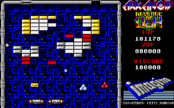 Arkanoid Revenge of Doh Taito Arcade Amstrad CPC Atari ST Commodore 64 C64 Amiga Sharp X68000 MSX PC ZX Spectrum Apple II Xtreme Retro 7