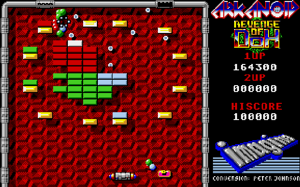 Arkanoid Revenge of Doh Taito Arcade Amstrad CPC Atari ST Commodore 64 C64 Amiga Sharp X68000 MSX PC ZX Spectrum Apple II Xtreme Retro 8