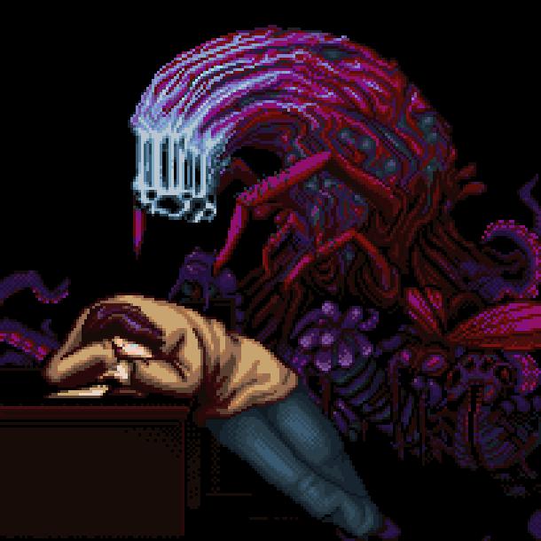 Deep Fear Sega Saturn Survival Horror Xtreme Retro Pixel Art