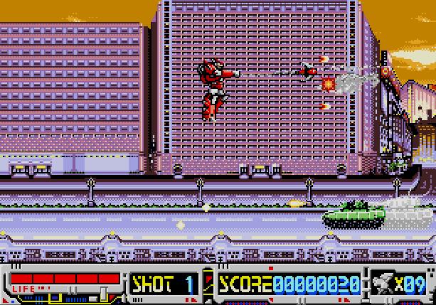 Devastator Wolf Team Sega Mega CD Xtreme Retro 1