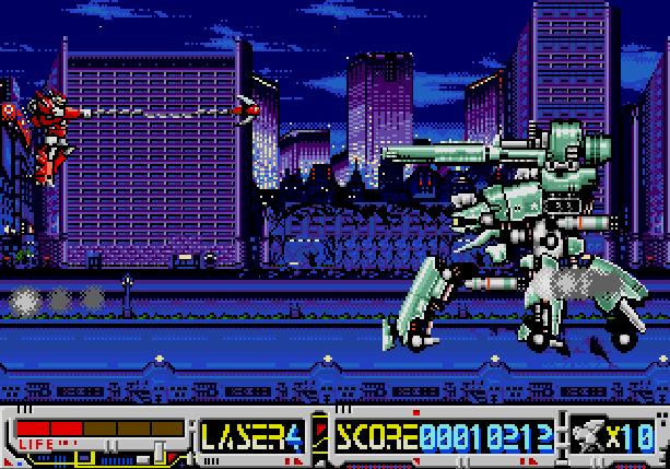 Devastator Wolf Team Sega Mega CD Xtreme Retro 2