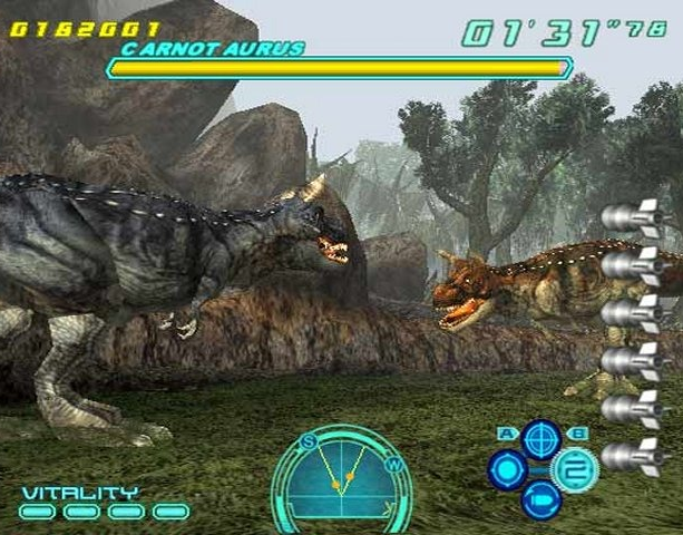 Dino Stalker Capcom Arcade PS2 PlayStation 2 Xtreme Retro 1