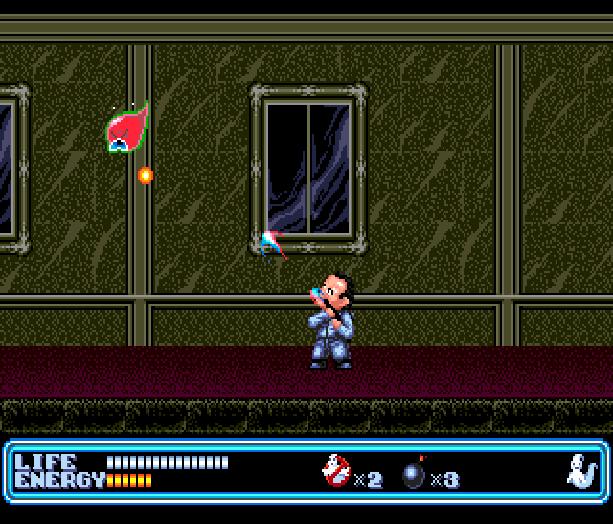 Ghostbusters Sega Genesis Peter Venkman Xtreme Retro