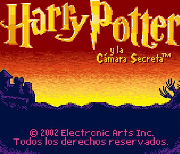 Harry Potter and the Chamber of Secrets y la Cámara Secreta EA Game Boy Color GBC Xtreme Retro 1