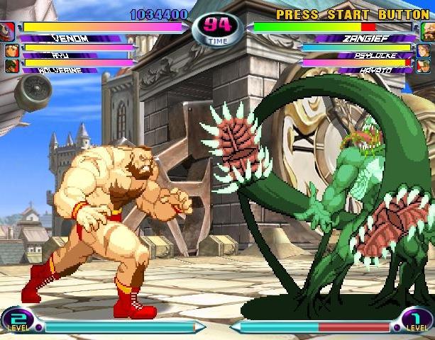 Marvel VS Capcom 2 New Age of Heroes Capcom Virgin Interactive Arcade Dreamcast PS2 Xbox Xtreme Retro 2