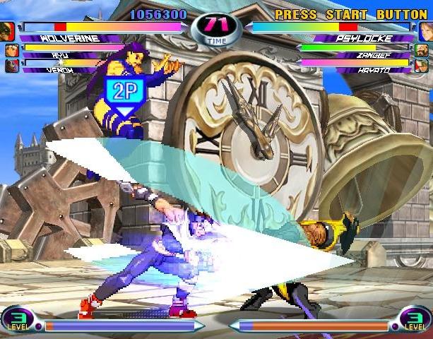 Marvel VS Capcom 2 New Age of Heroes Capcom Virgin Interactive Arcade Dreamcast PS2 Xbox Xtreme Retro 3